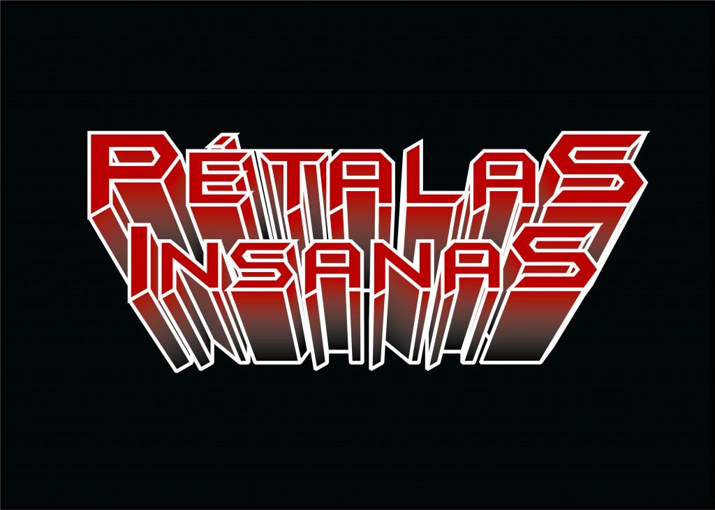 Pétalas Insanas Logo atual Preto